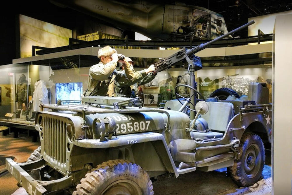 Nieuw: Het National Museum of the United States Army
