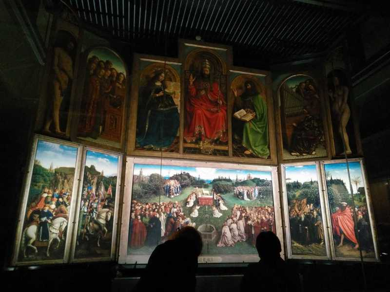 Conservation & security study for The Ghent Altarpiece