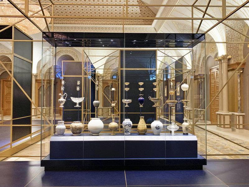 Abu Dhabi's presidentieel paleis open voor bezoekers