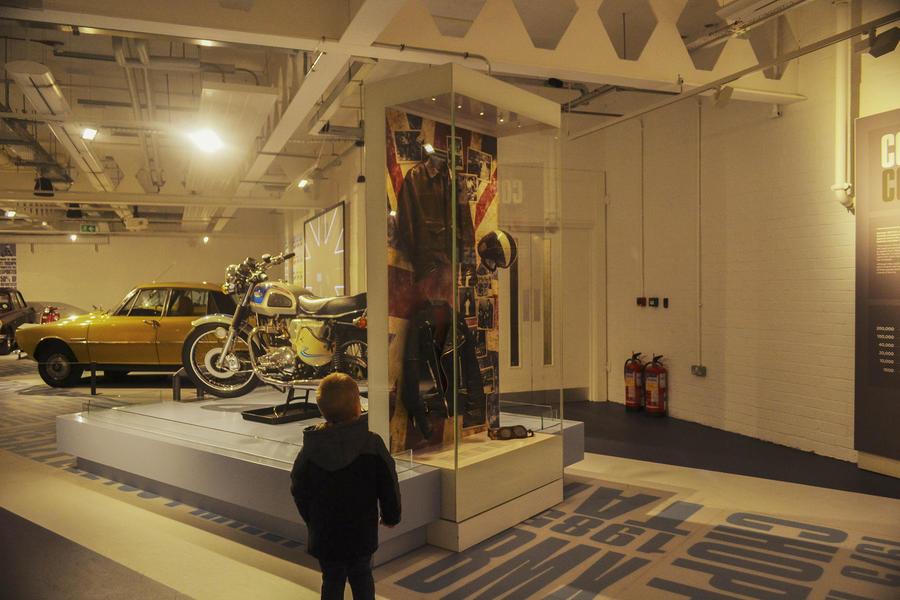 Museum showcase