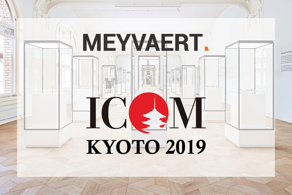 Visit us at ICOM in Kyoto