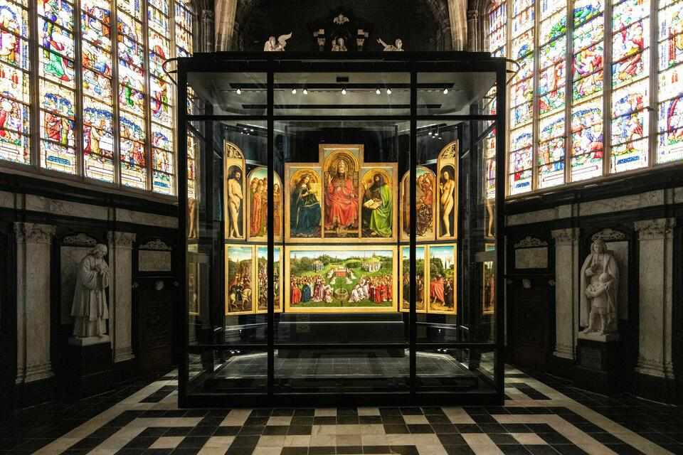 Experience the Ghent Altarpiece in augmented reality